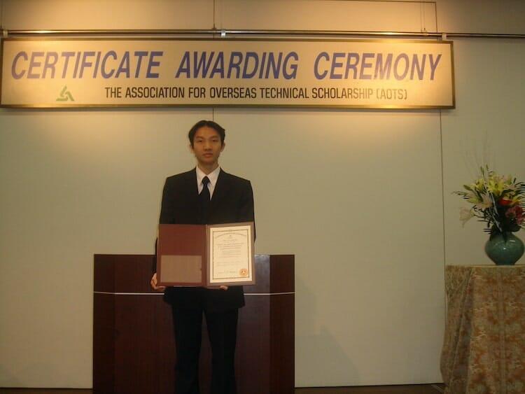 Lễ tốt nghiệp khóa học AOTS