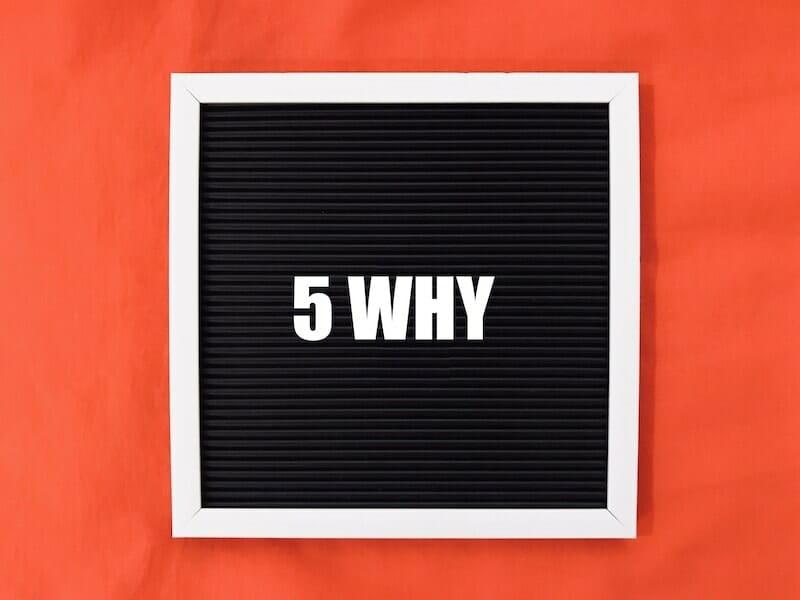 Phân tích 5 why